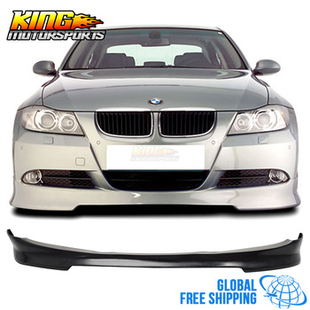 для 09 12 Bmw E90 Lci 4 двери седан передний бампер спойлер Splitter