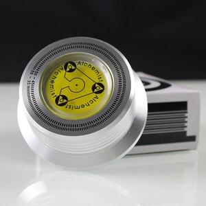 Image 5 - Estabilizador de disco de metal do vinil do lp da braçadeira de peso do registro de alumínio para o jogador de registros acessórios estabilizador de peso do disco lp