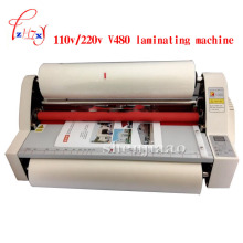 17.5″ V480 paper laminating machine,students card,worker card,office file laminator.Guaranteed photo A3 paper laminator 1pc