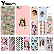 Yinuoda Kimoji Kim Kardashian Coque Shell Phone Case for iPhone 8 7 6 6S Plus 5 5S SE XR X XS MAX