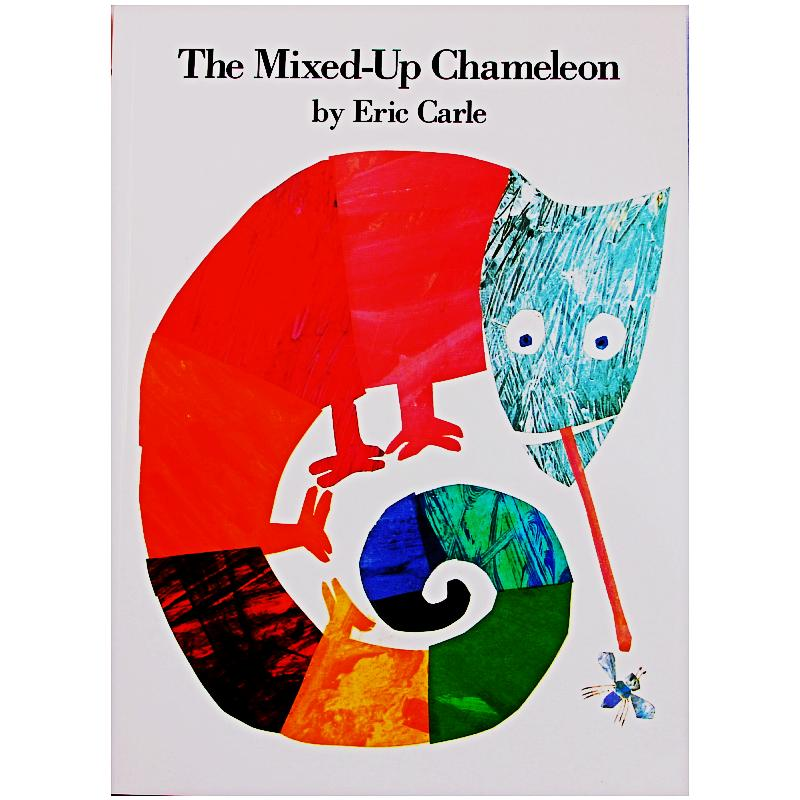 The Mixed-up Chameleon By Eric Carle Educational English Picture Book Learning Card Story Book For Baby Kids Children Gifts