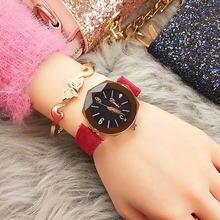 Горячие Стильные водонепроницаемые кварцевые часы для молодых