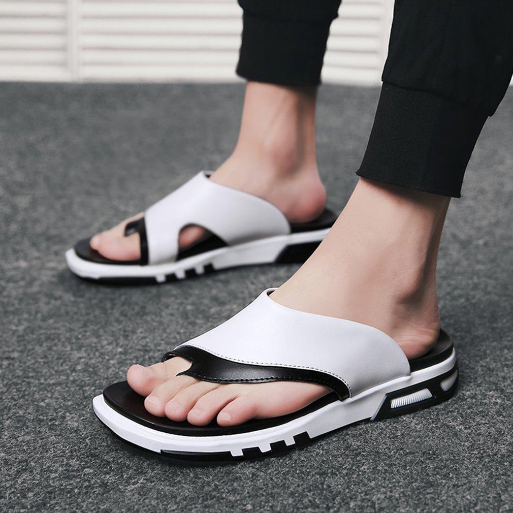 Sandalia Aire Estilo Hueco Hombre Libre Antideslizante Todo Playa Zapatillas Moda Zapatos Fósforo Suela Correa Casuales Al Verano TcFJuK13l