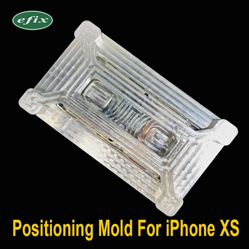 New LCD Laminating Positioning Mold Aluminium Alloy Metal Holder for iPhone XS  Touch Screen Glass Location Repair ToolNew LCD Laminating Positioning Mold Aluminium Alloy Metal Holder for iPhone XS  Touch Screen Glass Location Repair Tool