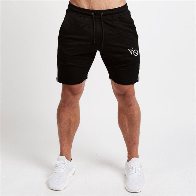 84da0835e1cb Vanquish Brand Summer Mens Gyms Cotton Shorts Sportswear Fitness  Bodybuilding Male Workout High Quality Knee Length Short Pants