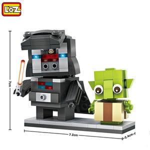 LOZ Mini Star Space Wars Robot