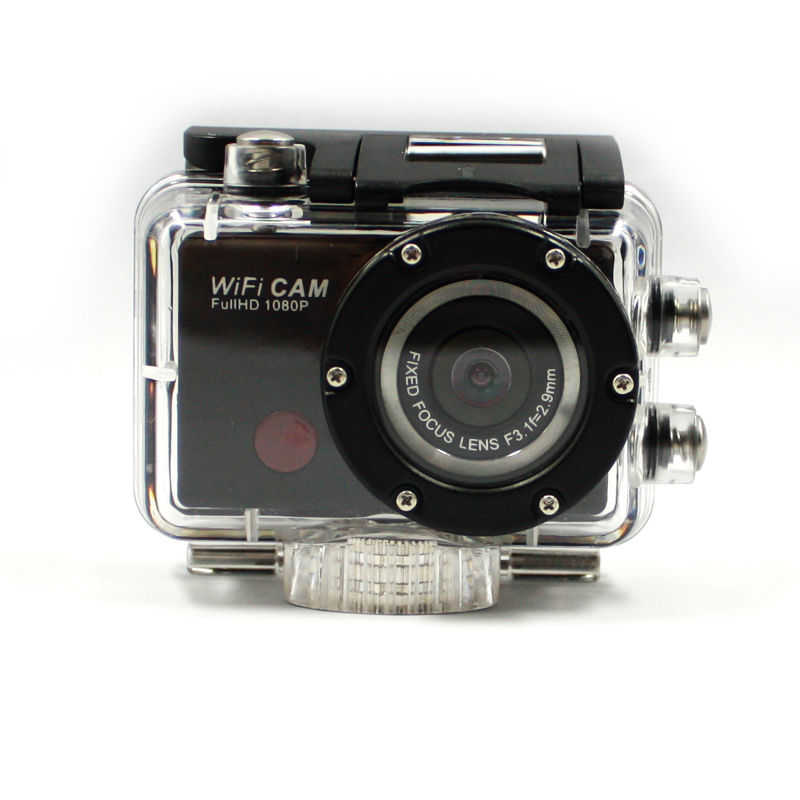 ФОТО Free Shipping WIFI IR Remote Control Digital Camera DV-126+ 1080P 30fps 170D Viewing Angle Camera