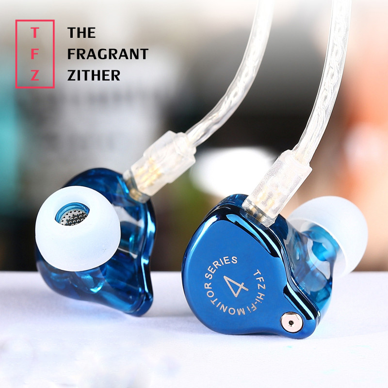 In-Ear Sports Earphones 2017 The Fragrant Zither TFZ SERIES 4 In Ear Earphone With 2Pin Interface HIFI Monitor DJ Bass Earbuds ukingmei uk 2050 wireless in ear monitor system sr 2050 iem personal in ear stage monitoring 2 transmitter 2 receivers