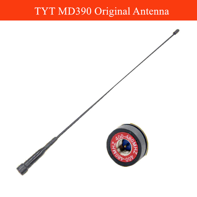 Dài Antenna MD-390 SMA-M UHF400-470MHz cho TYT TH MD380 MD390 MD398 UHF Walkie Talkie