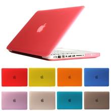 Moda Casual Laptop Case Para Macbook Pro 13 Caso De Cristal Matte Transparente Capa Laptop Case para Macbook Pro Ar 13 Retina