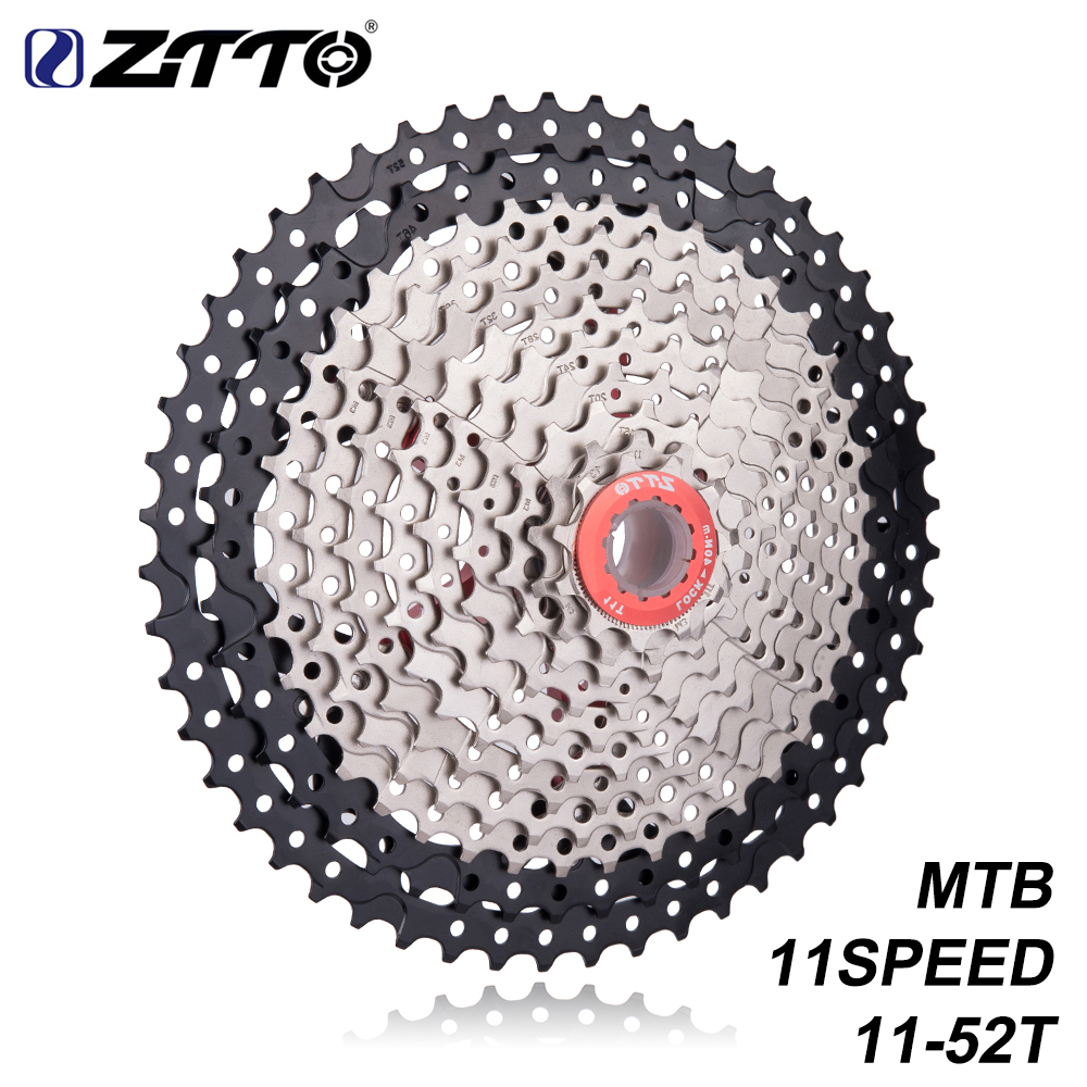ZTTO MTB 11 Speed Cassette 11-52t 11s Mountain Bike Sprocket Bicycle Freewheel Compatible for k7 X1 XO1 XX1 m9000 Bike Parts все цены