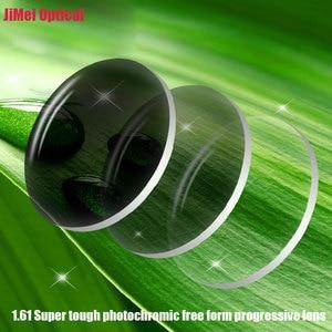 Image 3 - Objectif optique photochromique numérique, Super robuste, Prescription Progressive, avec Performance de couleur changeante rapide, 1.61