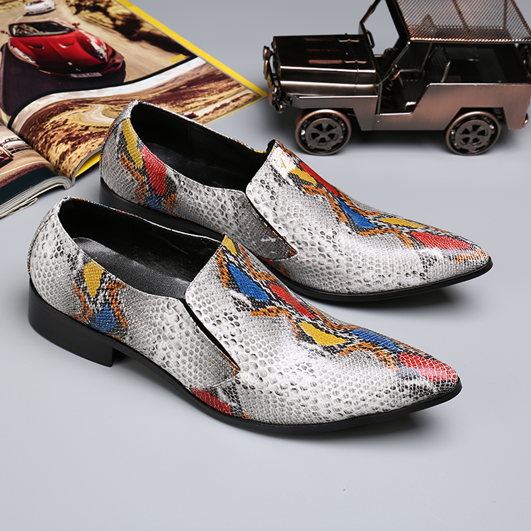 Mens Snakeskin Florals Genuine Leather Shoes Men Flats Pointed Toe Men Oxfords Shoes Casual Men Dress Shoes Wedding shoe oxfords мр 25 97 матрешка 10м надежда page 6