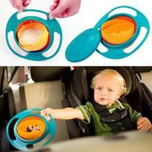 Praktická nevyklopitelná miska pro děti