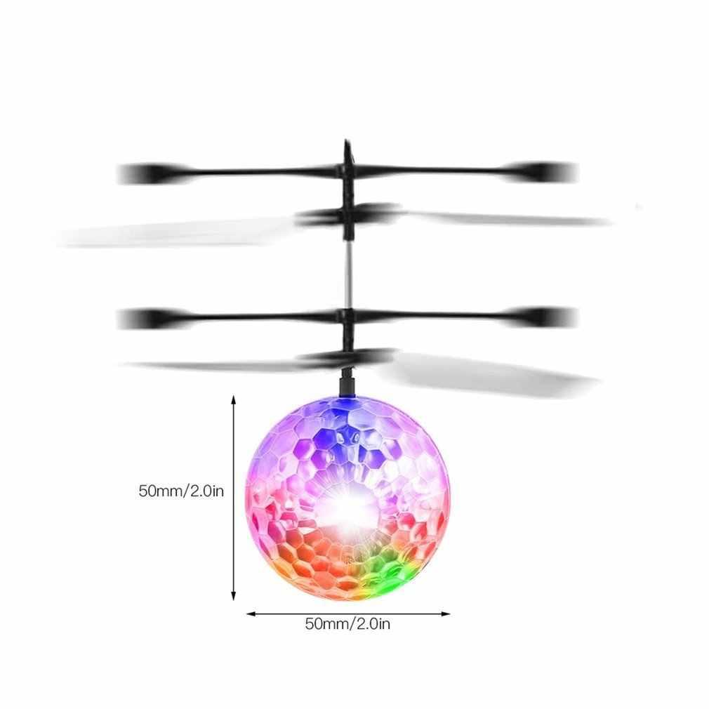 OCDAY Fly мигающий шар игрушки ручной пульт дистанционного управления RC вертолет Летающий Квадрокоптер светодиодный фонарь для дрона шар забавная игрушка подарок для детей