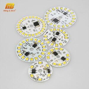 Image 3 - Układ LED SMD2835 15W 12W 9W 7W 5W 3W 220V żarówka LED lampa koralik inteligentny IC nie ma potrzeby kierowcy dla powodzi światła Spotlight Diy oświetlenie