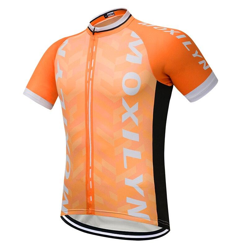 2018 moxilyn hombres Ciclismo Jersey manga corta MTB Ciclismo ropa ...