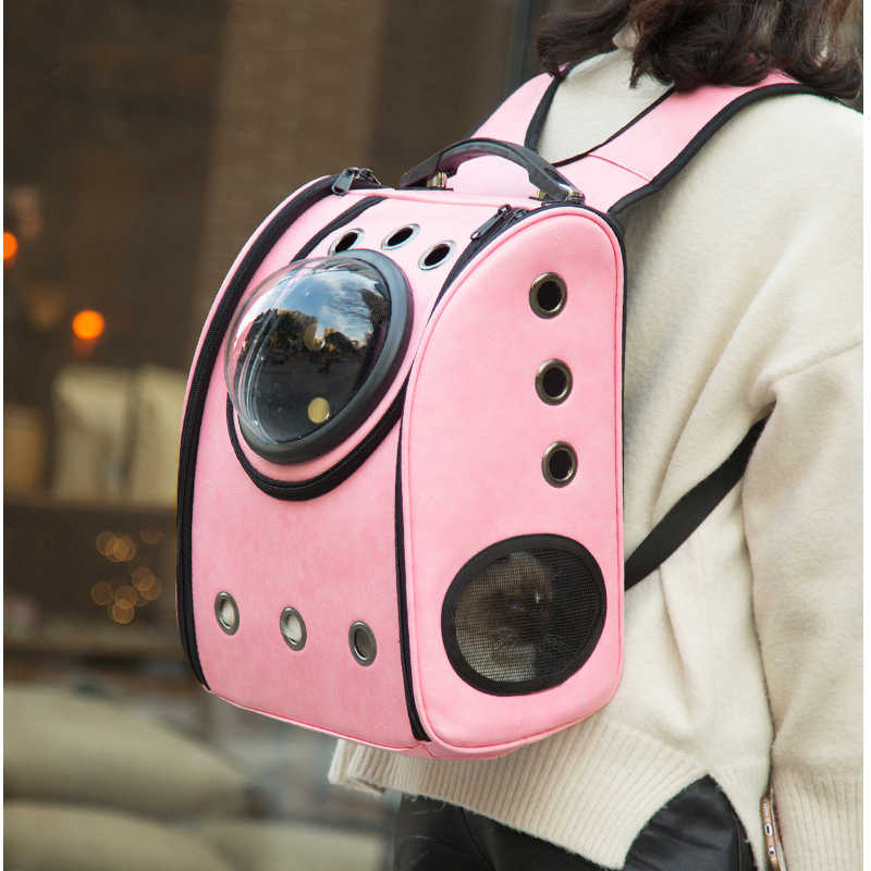 DannyKarl Travel Backpack for Dogs Carrier The Capsule Bag Carrying Pet Cat Breathable Outdoor Portable Packaging Bag Dasyure