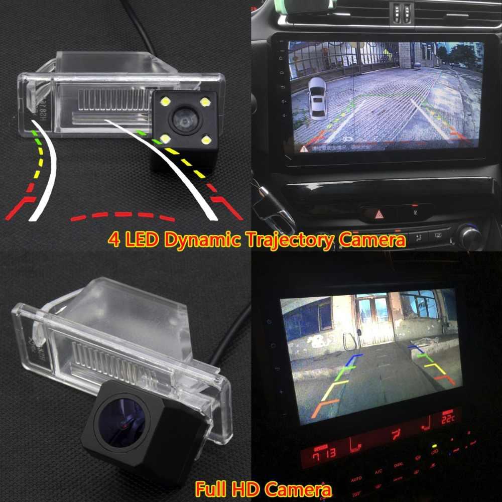 Para Nissan X Trail X-Trail Qashqai Juke soleado viceversa NV200 DE MARZO DE para coche CCD de respaldo LED cámara de visión trasera inversa coche Monitor de aparcamiento