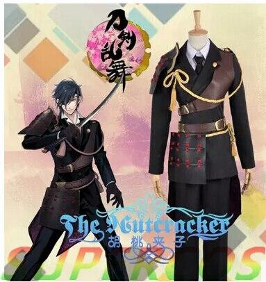 Free Shipping! Touken Ranbu Online Shokudaikirimitsutada Cosplay Costume ,Perfect Customized For you!