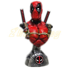 Superhero 1/3 scale Deadpool More accessories High configuration resin statue toys action figure bust 33cm Deadpool 3 colors toy