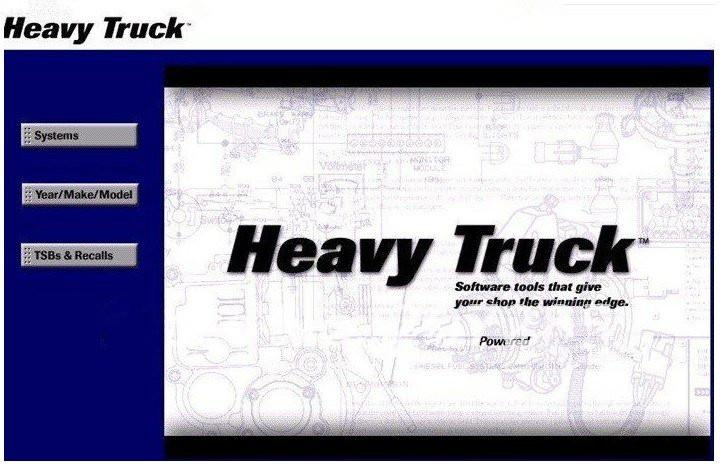 Newest version Mitchell Heavy Truck repair software for trucks with ...