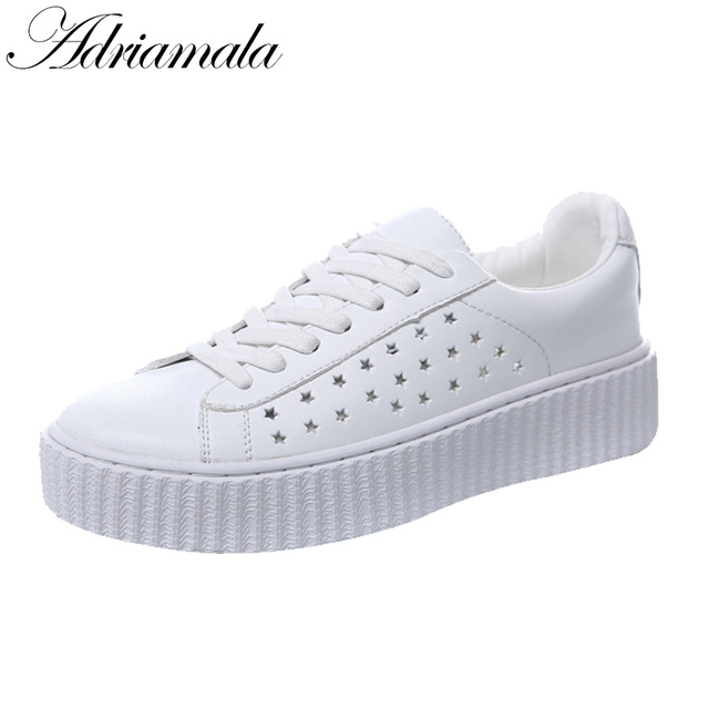 Womens Sneakers Loafer Fashion Summer Hollow Out Breathable Slip On Flats Shoes