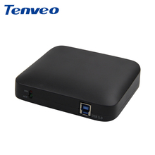 Tenveo 1080P 60FPS Drive-Free HD Capture Card vodel collection Box with USB3.0 DVI HDMI HD-SDI for Windows Linux Os X System