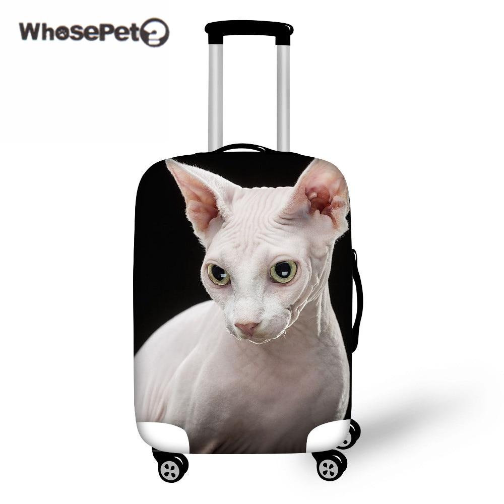 Whosepet Чемодан Чехлы для мангала защитный чемодан чехол путешествие по дороге канадский голая Товары для кошек Сфинкс чехол для 18 до 30