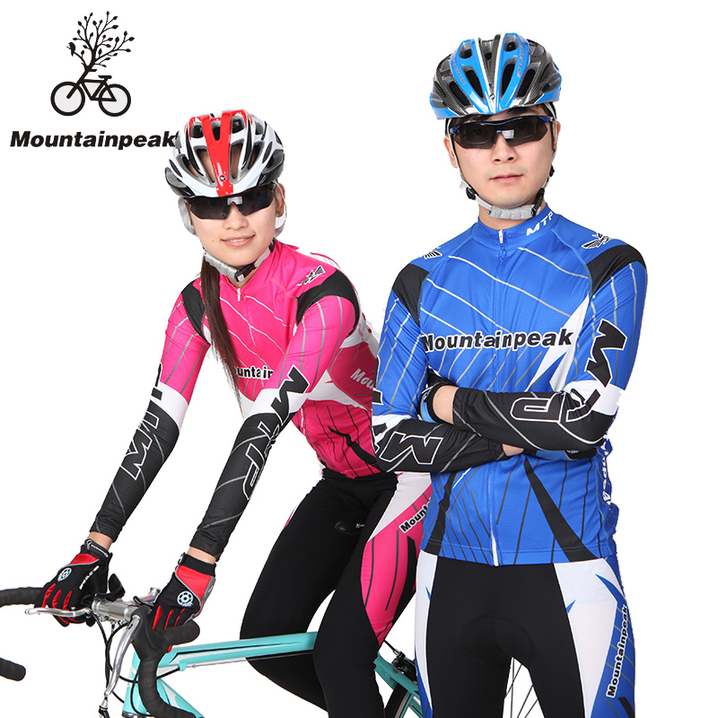Mountainpeak Couple Riding Suit Long Sleeved Suit Men and Women Cycling Wear Pants Riding Pants