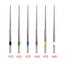 цена на NITI root canal file endo tip ultrasonic cleaning files for EMS WOODPECKER DTE endo tip