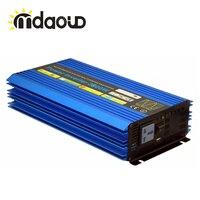 5200 Вт пиковый 2600 Вт решетки солнечных инвертор Чистая синусоида Мощность инвертор беспроводного пульта дистанционного управления ce Росс У