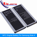 LJ Оригинальный NFC Аккумулятор Для Samsung Galaxy Note 4 N9100 N910F N910H N910S N910U N910L EB-BN910 (916) БИ-БИ-СИ BBU BBE 3220 мАч