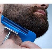 Стилизация брат формирование моделирования борода отделка гребень шаблон инструменты инструмент волос