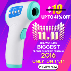 Multi-propósito Bebé/adulto termómetro infrarrojos no contacto frente cuerpo Termometro termómetro electrónico