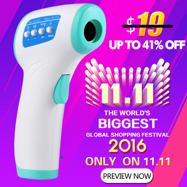 New Multi-purpose Infrared Baby care /Adult Thermometer Non-contact Forehead Body Digital Termometro  Electronic Thermometer Gun