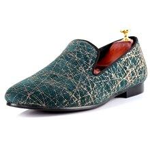 Harpelunde мужская повседневная обувь 2017 Новинка; туфли роспись Лоферы Бесплатная доставка Размеры 7–14