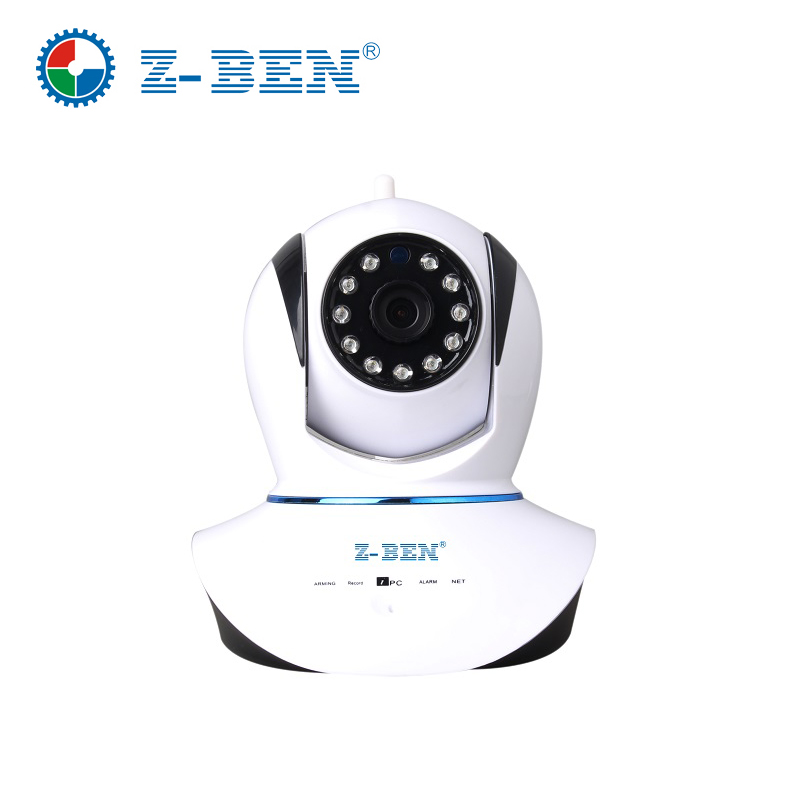 ZBEN Newest Mini 720P HD Megapixel P2P Wireless IP Camera IPDH08 Pan/Tilt with Two Way Audio TF Micro SD Card Slot Free APP syarin baby monitor hd 720p 1 0mp ip camera wireless wifi two way audio motion detection alarm wifi camera tf card slot pan tilt