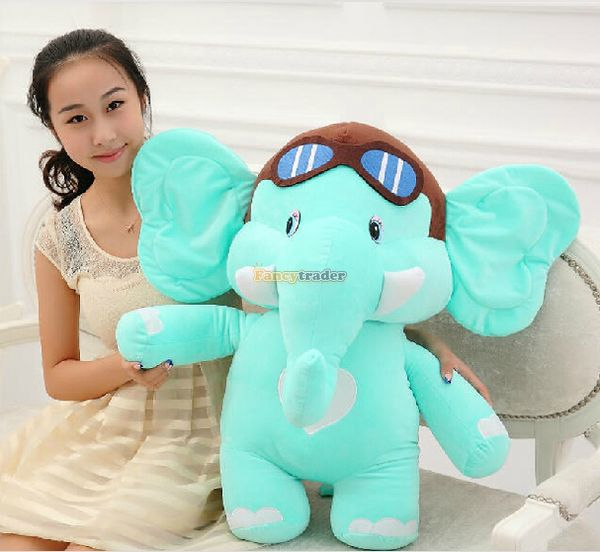 Fancytrader 30 / 75cm Lovely Stuffed Soft Plush Cute Big Dumbo Elephant Toy, 2 Colors Available, Free Shipping FT50467Fancytrader 30 / 75cm Lovely Stuffed Soft Plush Cute Big Dumbo Elephant Toy, 2 Colors Available, Free Shipping FT50467