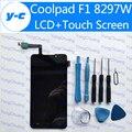 Coolpad F1 ЖК-Дисплей + Сенсорный Экран 100% Новый Дигитайзер Стекла Сенсорная Панель Для Coolpad Великий Бог 8297 Вт 1280x720 HD 5.0''