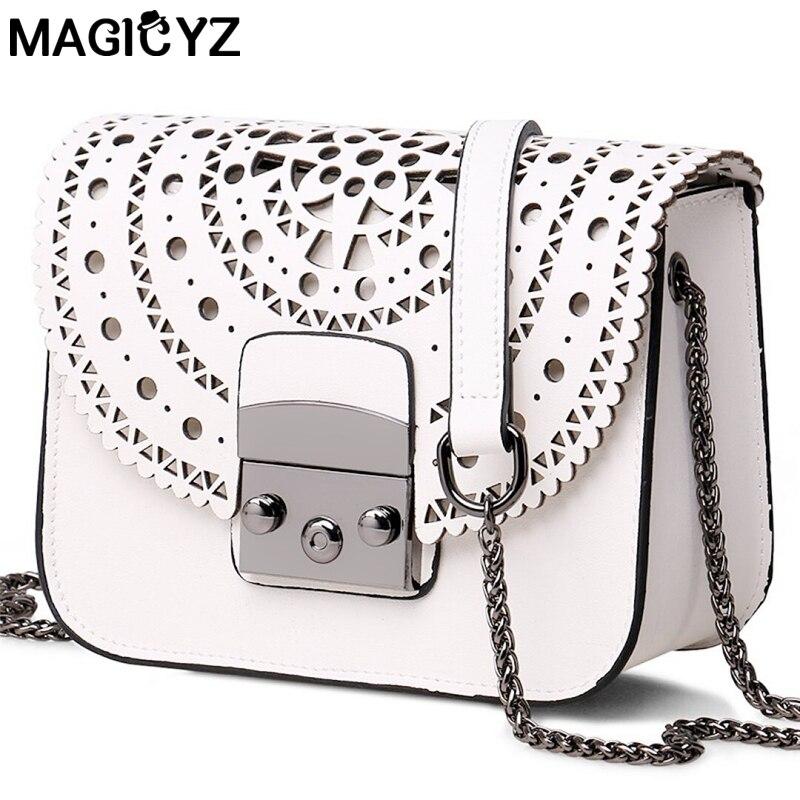 para mulheres do vintage oco Popular Estilo Name : Small Square Bag