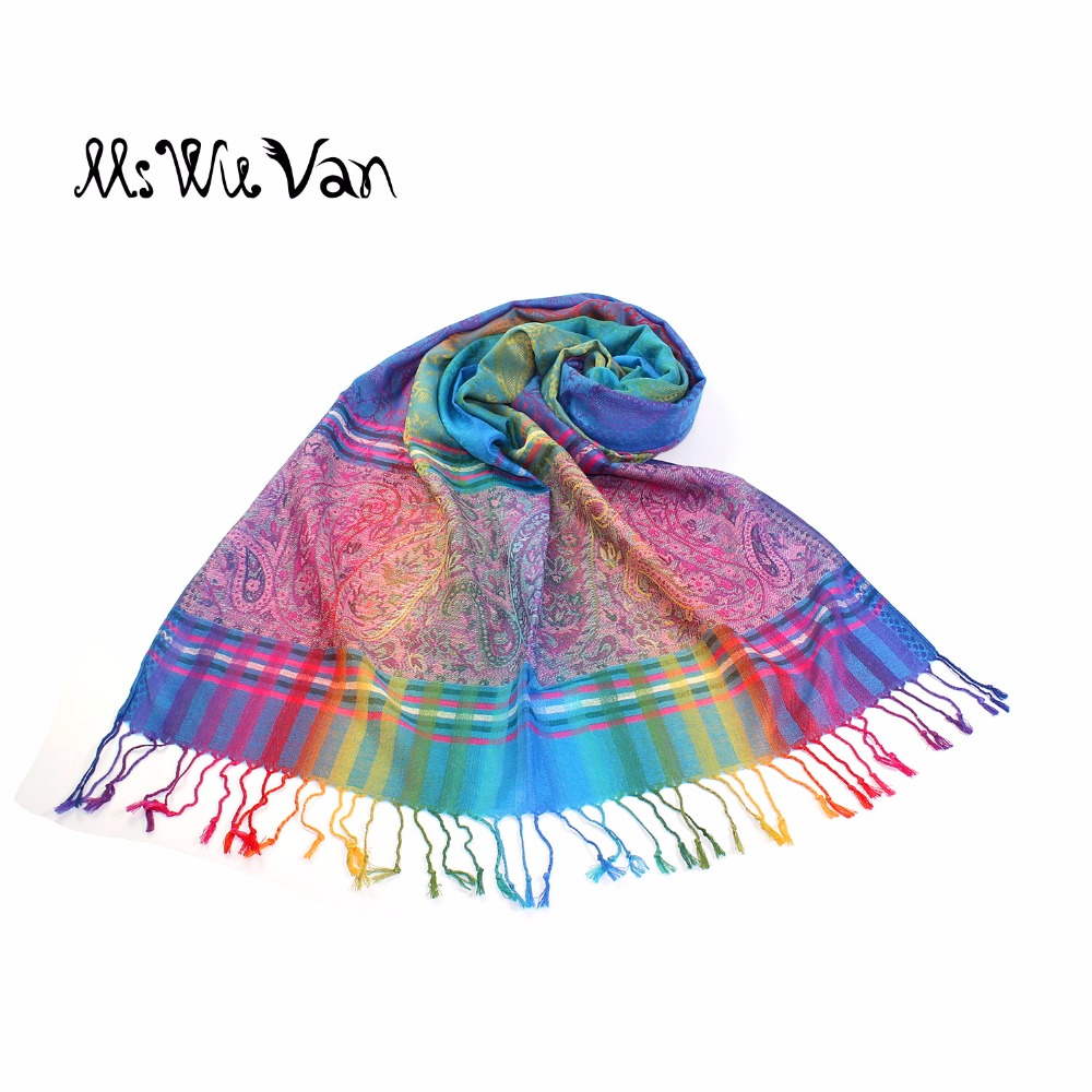 scarpe sportive 0b782 3f0d7 US $10.99 45% OFF|Indian Tippet Paisley Colorful Bohemian Printed Scarf  Exotic Winter Scarves 100% Cotton Turquoise Pashmina Red Boho Shawls-in ...