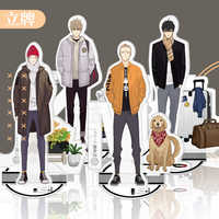 Old Xian 19 Days Official Anime Around Characters Acrylic Ornaments Badge Desktop Decoration Gifts