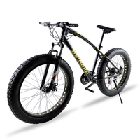 Mountain Bike 7 21 Speed 26 X 4 0 Inch Snow Bicycle Brand Front And Rear
