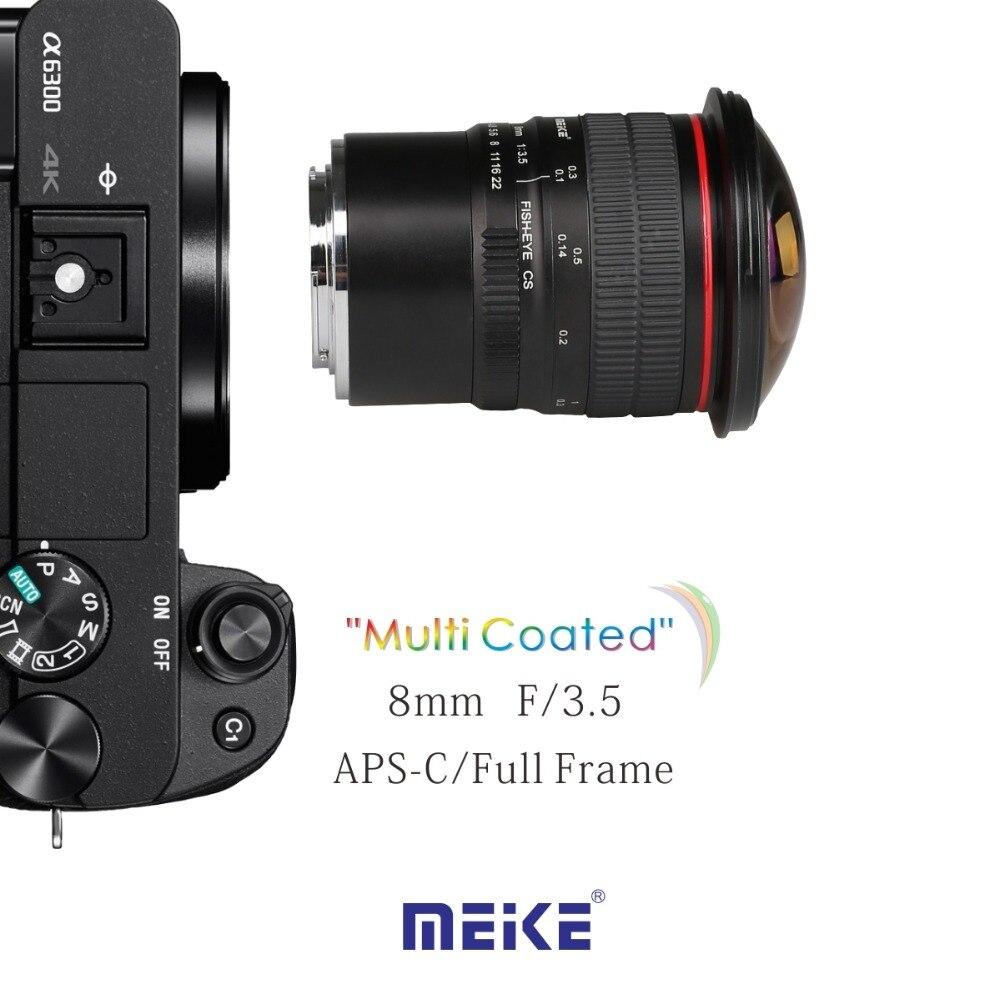 MEKE MK E 8 3.5 8mm f/3.5 Fisheye Lens for SONY mirrorless Camera ...