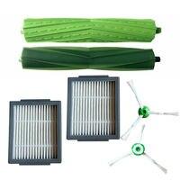 Escovas principais/laterais acessórios de filtro para roomba i series i7 e5 e6|Peças p| |  -