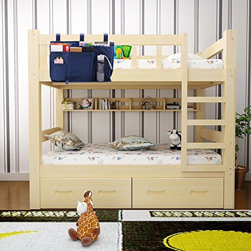 Multifunctional Bedside Hanging Storage Bag Kids Bunk Bed Organizer