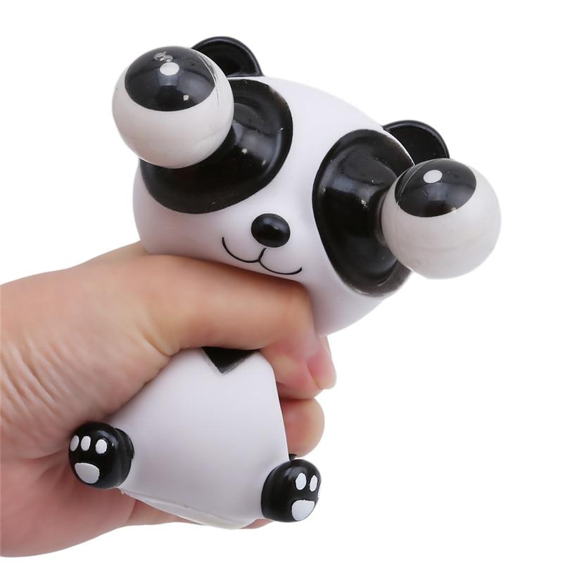 Engraçado dos desenhos animados animal pequeno brinquedo anti-stress squeeze pop para fora olhos boneca alívio do estresse ventilação brincando brinquedo de descompressão