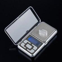 1 unids Nuevo Envío Libre 500g 0.1g Escala Electrónica Mini Digital Pocket Peso Joyería Diomand Balanza balanza digital escala de la joyería