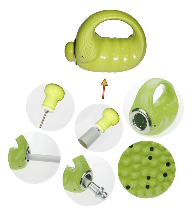 New Arrival Health Care Ceramics Moxa Roll Burner Scraping Therapy Pot Moxibustion Meridian Brush обувь для легкой атлетики health 160